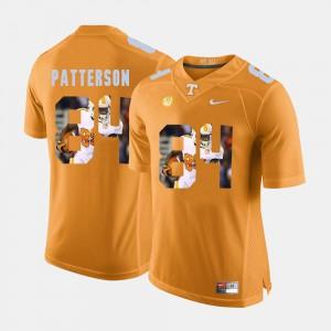 Vols #84 Men's Cordarrelle Patterson Jersey Orange Pictorial Fashion Embroidery 580730-377