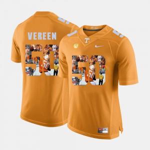 UT VOL #50 Men's Corey Vereen Jersey Orange Alumni Pictorial Fashion 808109-688