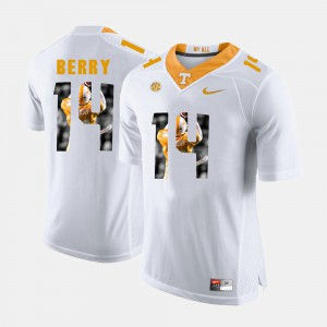 Vols #14 For Men Eric Berry Jersey White Embroidery Pictorial Fashion 913816-883