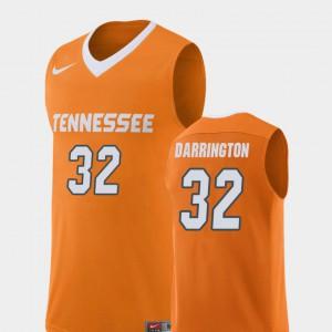 Tennessee Volunteers #32 Mens Chris Darrington Jersey Orange College College Basketball Replica 682817-179