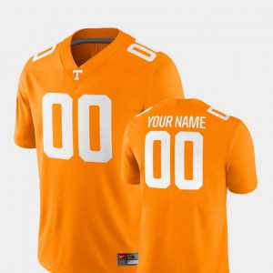 TN VOLS #00 For Men Customized Jerseys Tennessee Orange 2018 Game College Football Embroidery 210024-512