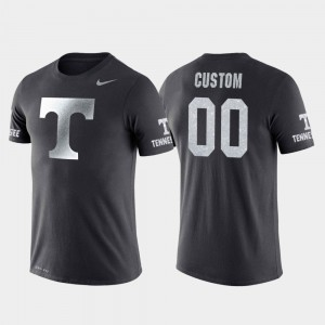 UT VOL #00 For Men Customized T-Shirt Anthracite Stitched College Basketball Performance Travel 955410-552