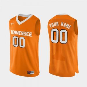 Vols #00 For Men Custom Jersey Orange College Basketball Authentic Performace College 222712-482