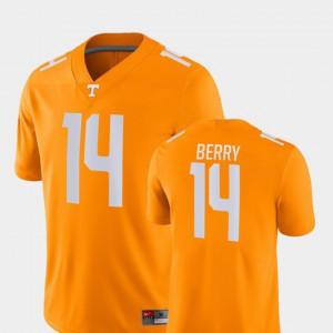 UT VOL #14 For Men's Eric Berry Jersey Orange NCAA Game College Football 169072-136