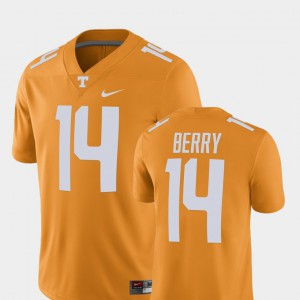 Tennessee Volunteers #14 Mens Eric Berry Jersey Tennessee Orange Player Alumni Football Game Player 336052-380