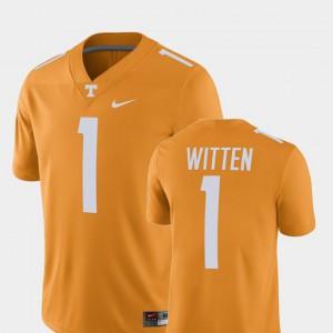 UT VOLS #1 For Men Jason Witten Jersey Tennessee Orange Alumni Alumni Football Game Player 268828-732