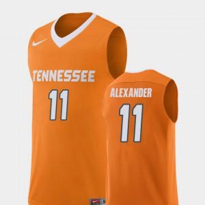 TN VOLS #11 For Men's Kyle Alexander Jersey Orange College Basketball Replica University 123980-684