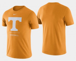TN VOLS For Men's T-Shirt Tennessee Orange Official Dugout Performance College Baseball 760073-587