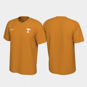 University Of Tennessee Men's T-Shirt Tennessee Orange High School Left Chest Logo Legend 748704-679
