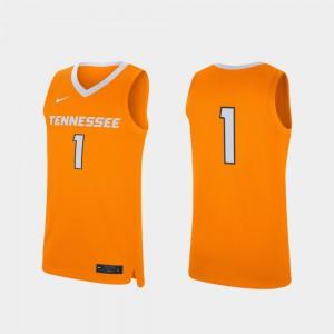 VOL #1 For Men's Jersey Tennessee Orange College Basketball Replica NCAA 415022-964