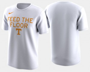 Vols For Men's T-Shirt White Stitched Basketball Tournament 2018 March Madness Bench Legend Performance 544526-894