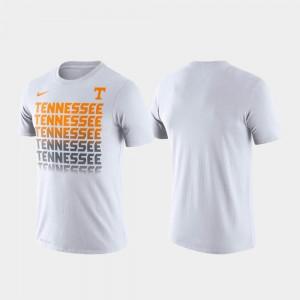 VOL Men's T-Shirt White College Performance Fade 671282-297