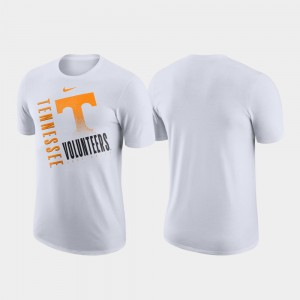UT VOLS For Men's T-Shirt White Stitch Just Do It Performance Cotton 835805-305
