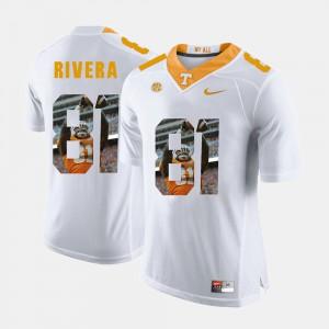Vols #81 Men Mychal Rivera Jersey White Stitched Pictorial Fashion 815856-243
