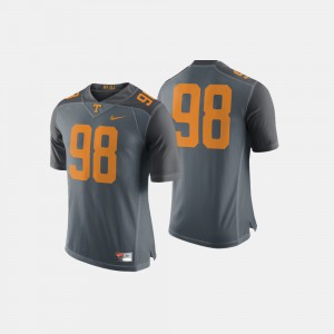 UT #98 Men Jersey Gray Embroidery College Football 183957-398