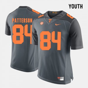 UT VOLS #84 Youth(Kids) Cordarrelle Patterson Jersey Grey College Football College 655437-650
