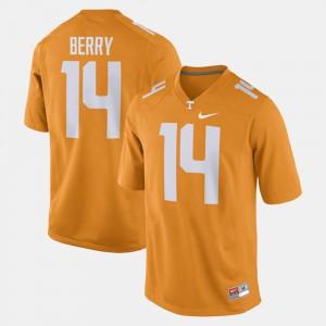 UT VOLS #14 Men's Eric Berry Jersey Orange High School Alumni Football Game 541641-773