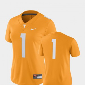 VOL #1 Womens Jersey Tennessee Orange 2018 Game College Football NCAA 492719-968