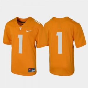 UT VOL #1 Kids Jersey Tennessee Orange Alumni Football Untouchable 760605-162