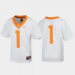 UT #1 Youth Jersey White High School Untouchable Football 857818-655